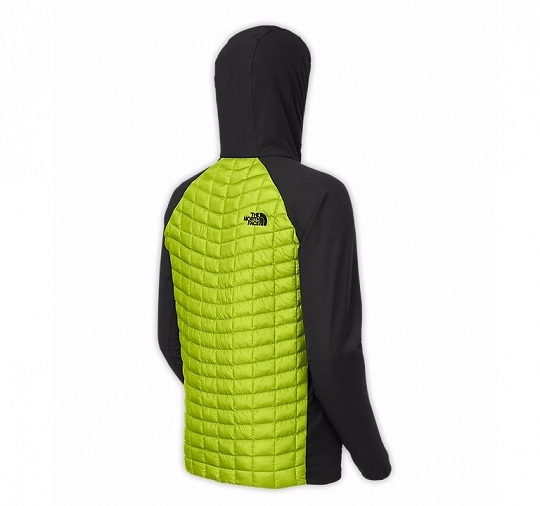 Kurtka The North Face ThermoBall Hybrid Hoody z ociepliną w korpusie