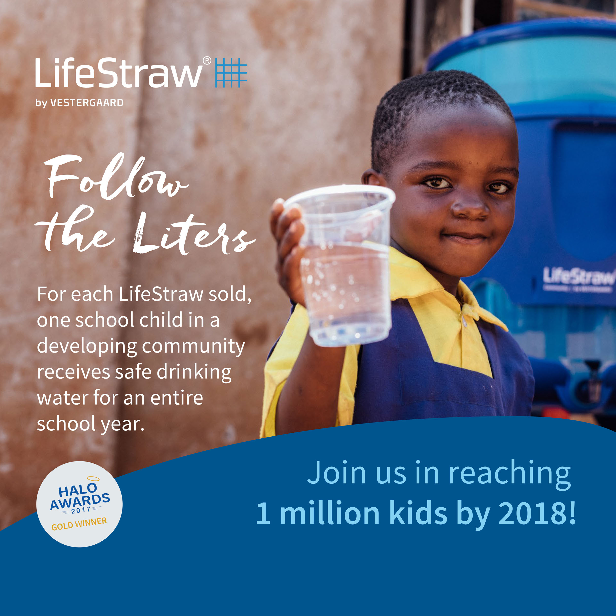 Akcja Life Straw Follow the Liters